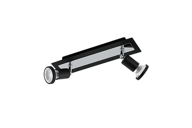 Eglo Sarria Skinne LED 2L - Svart/Krom - Belysning - Innendørsbelysning & Lamper - Spotlights & downlights
