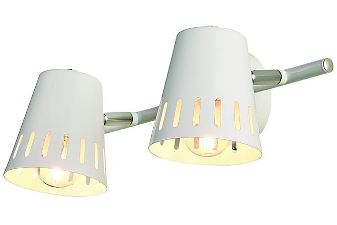 Hosea Spotlight 2L - Hvit - Belysning - Innendørsbelysning & Lamper - Vegglampe