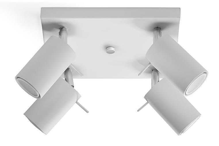 Ring Spotlight 20 cm Hvit - Sollux Lighting - Belysning - Innendørsbelysning & Lamper - Spotlights & downlights