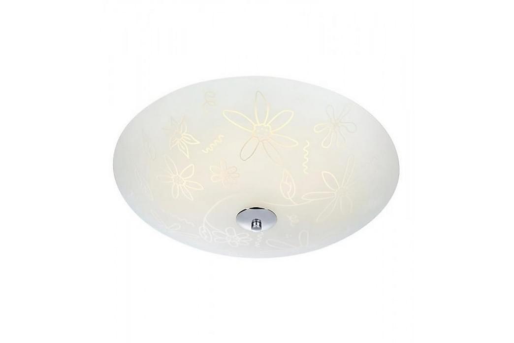 Fleur Plafond LED 43 cm Hvit/Krom - Markslöjd - Belysning - Innendørsbelysning & Lamper - Taklampe