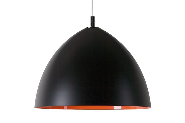 Lizzie Pendellampe D350 Svart/Oransje LED 12W - Belysning - Innendørsbelysning & Lamper - Taklampe