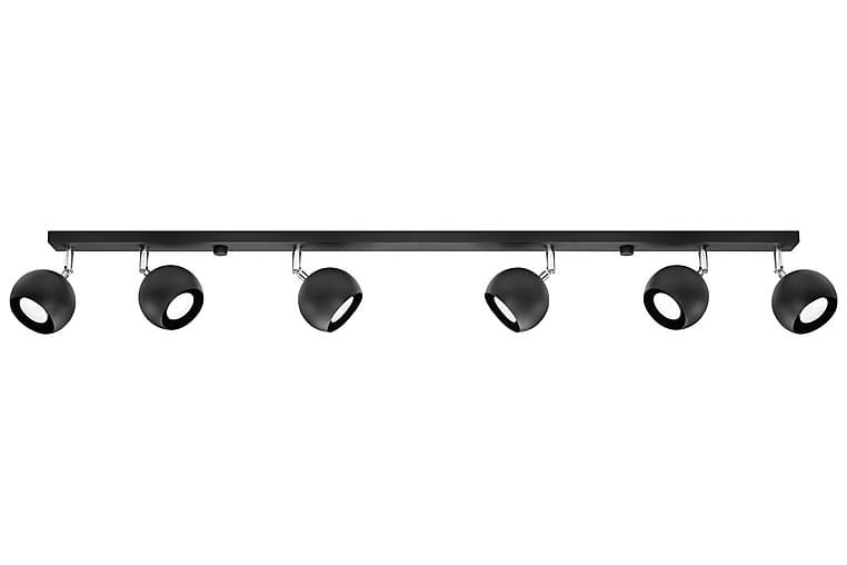 Oculare Pendellampe 6 Pærer Svart - Sollux Lighting - Belysning - Innendørsbelysning & Lamper - Taklampe