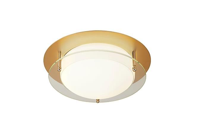 Bathroom Flush LED Light Gull/Glass - Searchlight - Belysning - Baderomsbelysning - Baderomslampe tak