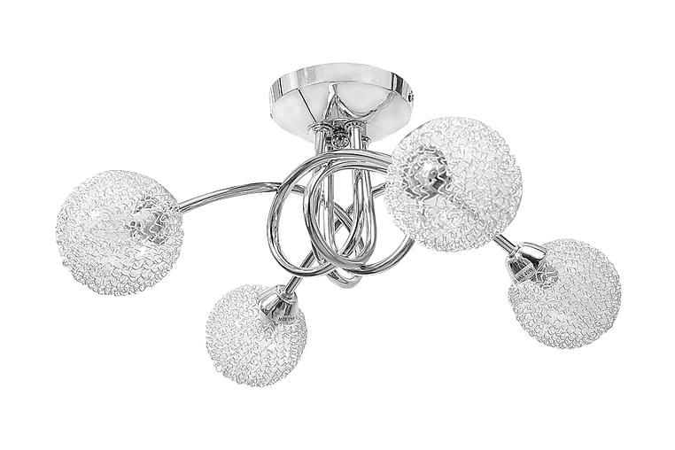Taklampe med nettingkuler for 4 lys - Belysning - Innendørsbelysning & Lamper - Taklampe