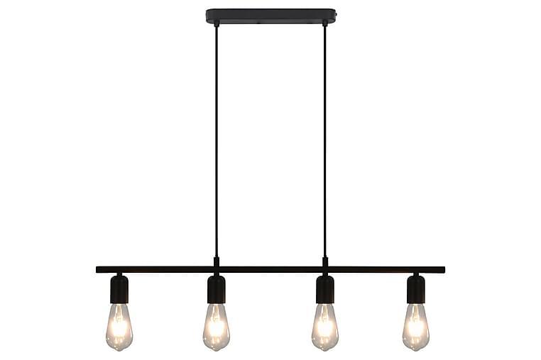 Taklampe svart 80 cm E27 - Svart - Belysning - Innendørsbelysning & Lamper - Taklampe