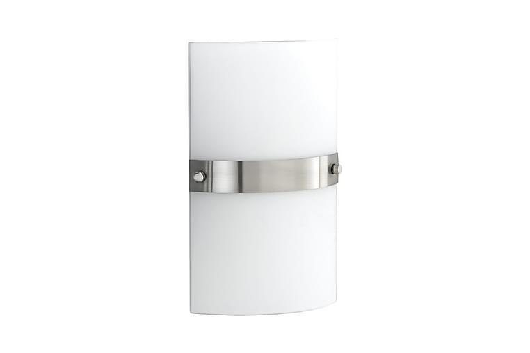 Kvadrat Vegglampe Kvadrat - Hvit/Lysegrå - Belysning - Innendørsbelysning & Lamper - Vegglampe