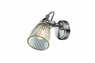 Lada Vegglampe Stål/Klar
