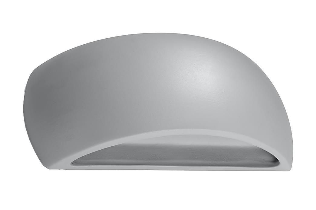 Pontius Vegglampe Grå - Sollux Lighting - Belysning - Innendørsbelysning & Lamper - Vegglampe