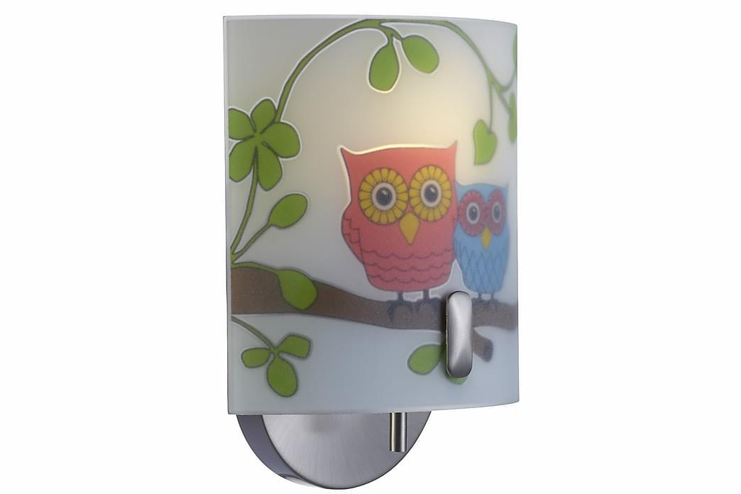Ugglarp Vegglampe Mønstret - Markslöjd - Innredning - Innredning barnerom - Barnelamper