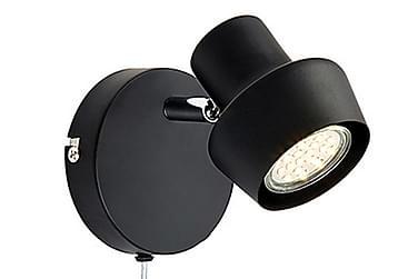 Urn Vegglampe Svart