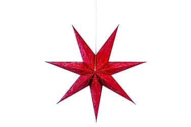 Aratorp Julestjerne 75 cm Rød