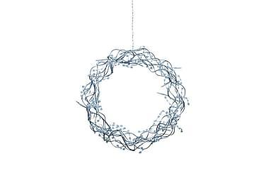 Libra Krans LED 35 cm Sølv