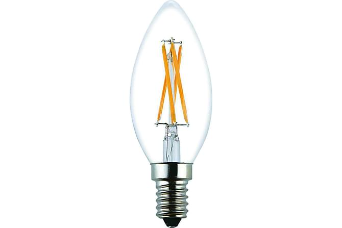 Kron LED-pære 1,8W E14 Filament - Klar - Belysning - Lyspærer & lyskilder - LED-belysning