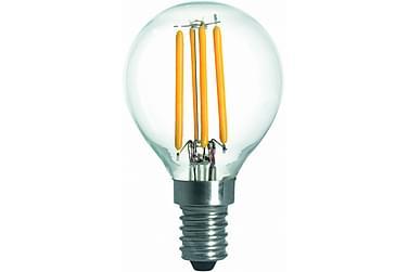 Kule LED-pære 3,6W E14 2700K Dim Filament
