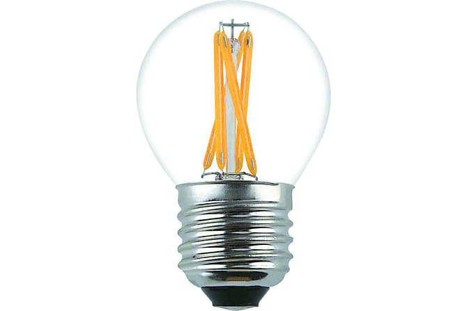 Kule LED-pære 3,6W E27 Dim Filament - Klar - Belysning - Lyspærer & lyskilder - LED-belysning