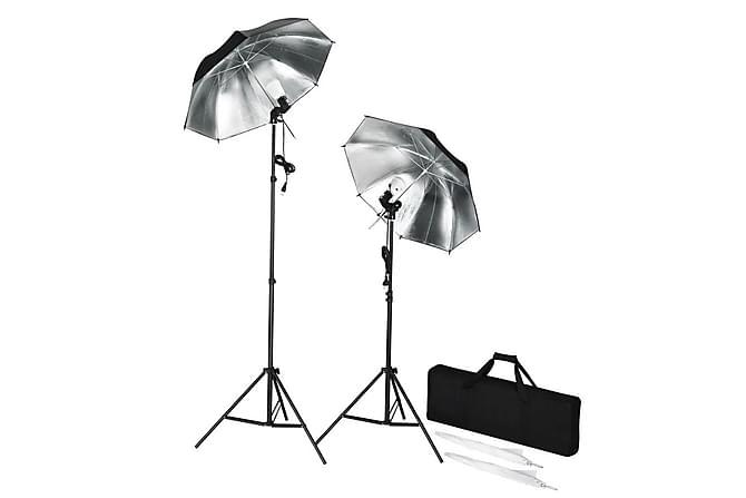 Bærbare studioblitzer med stativ og paraplyer - Belysning - Lyspærer & lyskilder - Spesiallamper