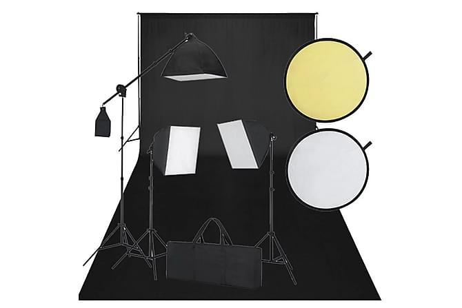Fotostudiosett svart - Belysning - Lyspærer & lyskilder - Spesiallamper