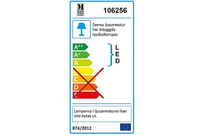 Nomad Vegglampe Mørkegrå - Markslöjd - Belysning - Utendørsbelysning - Fasadebelysning