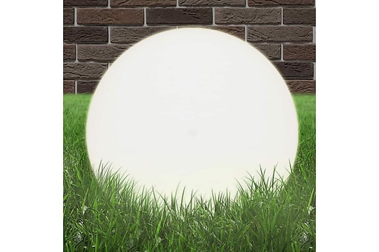 Lampe LED sfӕrisk 50 cm PMMA - Belysning - Utendørsbelysning - Stolpelykt & portlykt