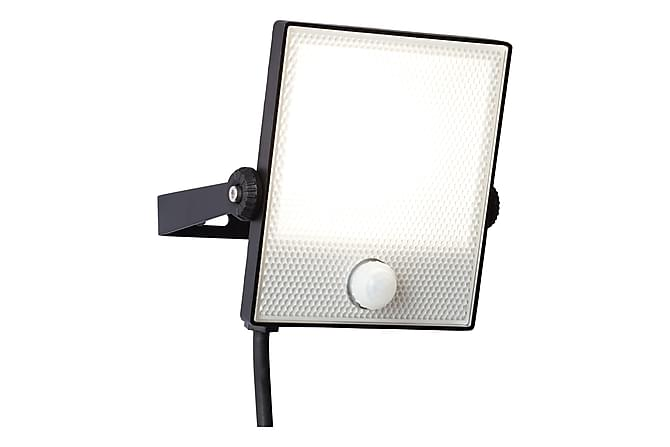 Dryden Lyskaster m Bevegelsessensor LED 13,5 cm - Svart - Belysning - Utendørsbelysning - Strålekaster