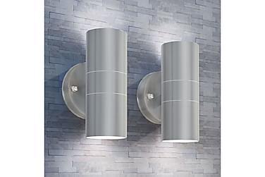 Werdin Vegglampe Oppover/Nedover LED 2-pk
