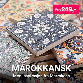 Marokkanske veggfliser