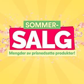 Sommersalg - Mengder av prisnedsatte produkter!