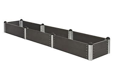 Pipe dyrkingskasse 78x394 cm høyde 36 cm kompositt