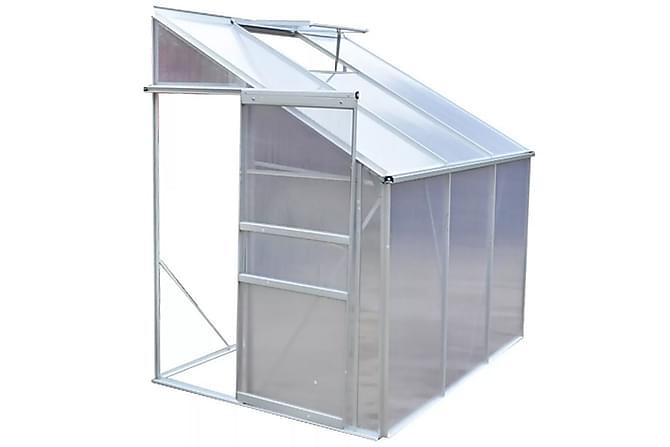 Drivhus aluminium 3 seksjoner - Hage - Dyrking & hagearbeid - Drivhus