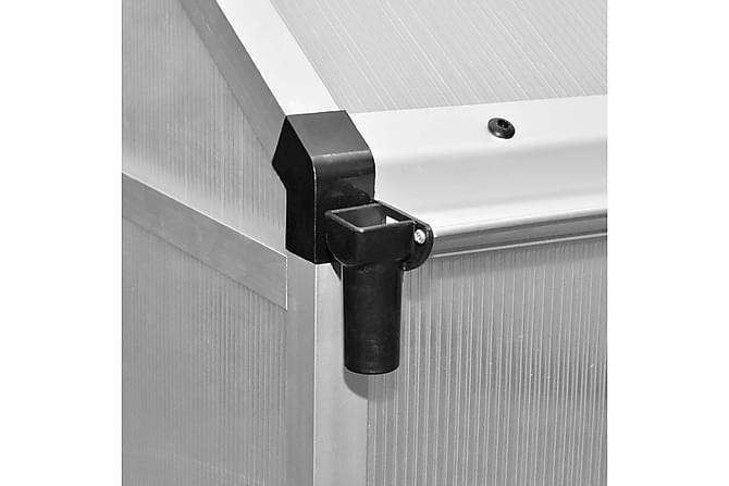 Veksthus forsterket aluminium 3,46 m² - Hage - Dyrking & hagearbeid - Drivhus