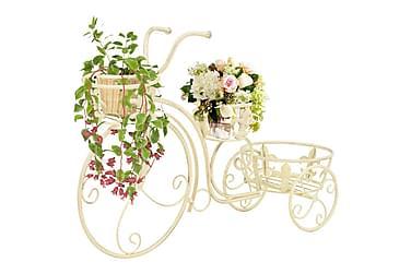 Blomsterstativ sykkelform gammeldags stil metall