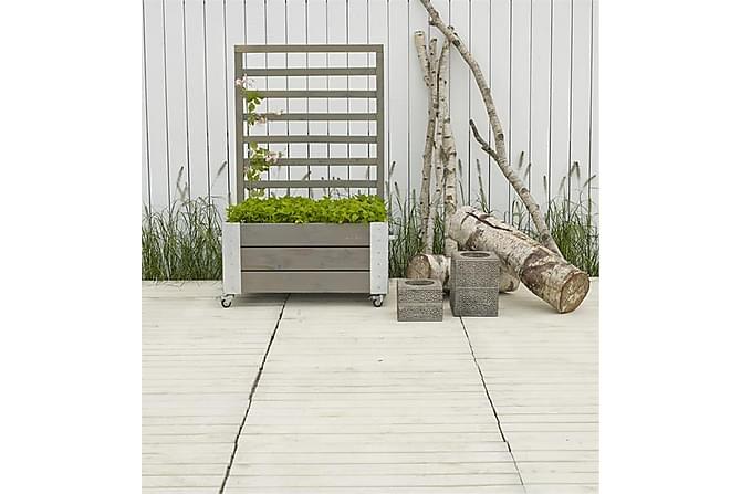 Cubic Blomsterkassse/Romavdeler 87x50x130 cm med stålhjørne - Hage - Dyrking & hagearbeid - Veggdrivhus & drivhus skap
