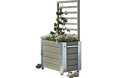 Cubic Blomsterkassse/Romavdeler 87x50x155 cm med stålhjørne