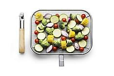 BBQ Grillkurv med avtagbart håndtak