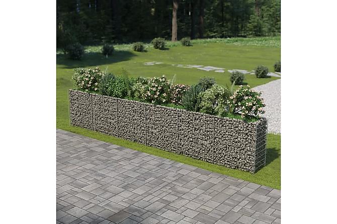 Gabion galvanisert stål 540x50x100 cm - Hage - Hagedekorasjon & utemiljø - Gjerder & Grinder