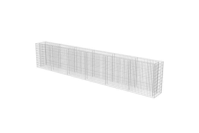 Gabion galvanisert stål 540x50x100 cm - Hage - Blomsterpotter - Store blomsterkrukker