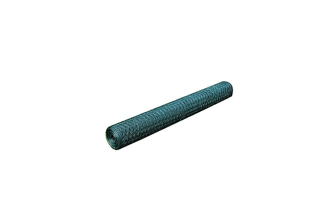 Gjerdenetting 1 x 25 m PVC-belagt Tykkelse 0,8 mm - Hage - Hagedekorasjon & utemiljø - Gjerder & Grinder