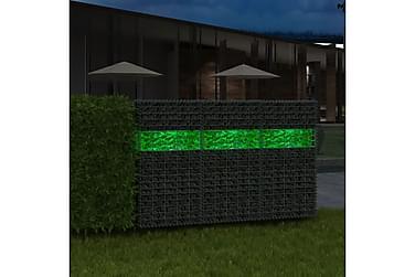 Grønne gabionsteiner glass 60-120 mm 25 kg