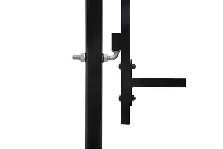 Hagegjerde stål 2x4 m svart - Hage - Hagedekorasjon & utemiljø - Gjerder & Grinder