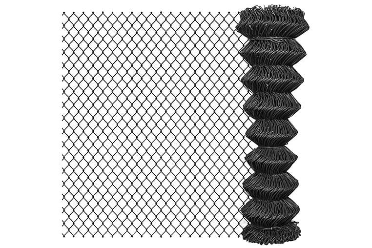 Kjedegjerde stål 25x1,5 m grå - Hage - Hagedekorasjon & utemiljø - Gjerder & Grinder