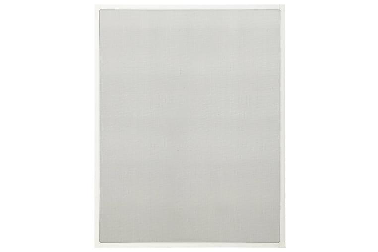 Insektskjerm for vindu hvit 90x120 cm - Hvit - Hage - Hagedekorasjon & utemiljø - Myggnett