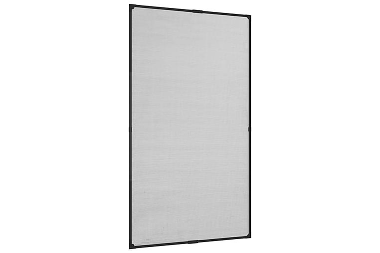 Magnetisk insektskjerm for vindu antrasitt 80x140 cm glassfi - Antrasittgrå - Hage - Hagedekorasjon & utemiljø - Myggnett