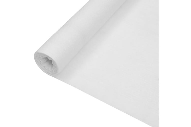 Skjermnett hvit 2x25 m HDPE 75 g/m² - Hvit - Hage - Hagedekorasjon & utemiljø - Myggnett