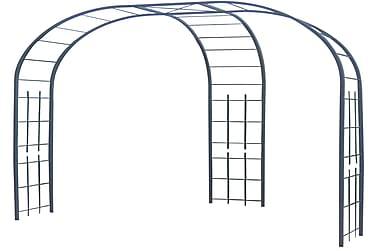Hagebue med 3-paneler