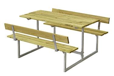 Basic bord- og benkesett til barn med 2 ryggstøtter trykkimp