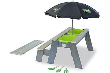 Exit Aksent Sand- og Piknikbord med 1 Benk og Parasoll