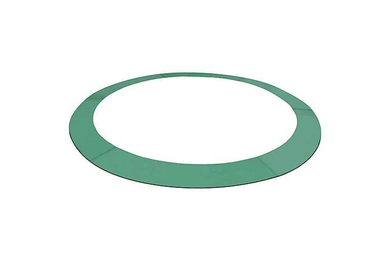 Sikkerhetsmatte PE grønn 3,05 m rund trampoline - Hage - Hobby & lek - Trampoliner