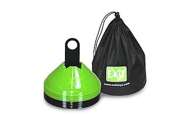 Exit Treningskjegler 20-pack inkl. Oppbevaringspose