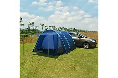 Campingtelt 390x330x195 cm blå