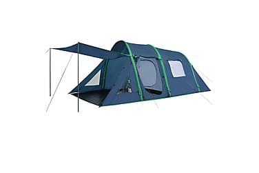 Campingtelt med oppblåsbare bjelker 500x220x180 cm grønn